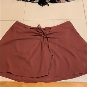 Kendall and Kylie skirt in peachy pink